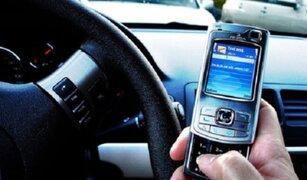 Accidentes vehiculares provocados por dispositivos móviles