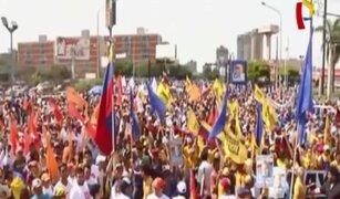 Venezuela: diversas regiones se unen para protestar en contra de Maduro