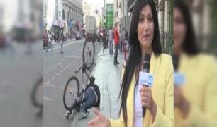 VIDEO: bloopers de periodistas protagonizados en vivo