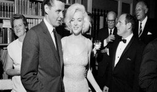 EEUU: subastan icónico vestido de Marilyn Monroe