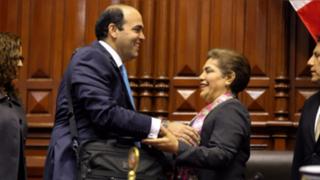 Fernando Zavala entregó proyecto de pedido de facultades legislativas al Congreso