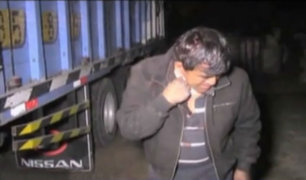 Chaclacayo: capturan a sujetos que asaltaban en Carretera Central