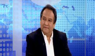 Juan de la Puente analiza impasses en agrupaciones políticas