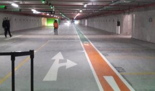 San Isidro: parqueo subterráneo será gratuito durante 'marcha blanca'