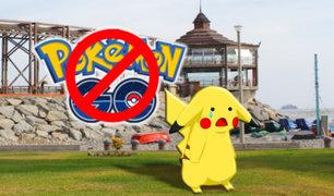 """La Punta: Para los que usen """"Pokémon Go"""" se establece multa de 395 soles"""