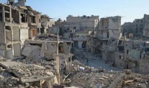 Siria: reportan nuevos bombardeos en devastada Alepo