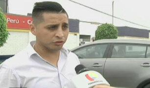 Joven denuncia haber sido golpeado por chofer de 'Taxi Green'