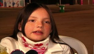 Francisca Aronsson: la pequeña 'Margarita' recorrió la feria gastronómica Mistura
