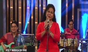 Eva Ayllón deslumbró a su público en Porque hoy es Sábado con Andrés