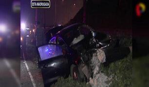 Miraflores: expositores de Mistura salvan de morir en choque vehicular