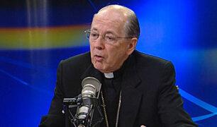 PUCP: Cardenal Juan Luis Cipriani fue reemplazado como canciller
