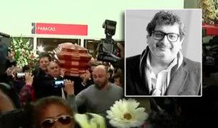 Restos de Ricky Tosso son trasladados a Cementerio Jardines de la Paz en Lurín