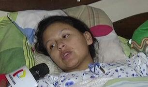 San Juan de Miraflores: Gestante baleada por sicarios fue dada de alta tras dar a luz
