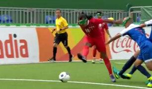 Facebook: Un jugador invidente regala un golazo a lo Maradona en Paralímpicos Río 2016 [VIDEO]