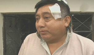 Santa Anita: sujetos agreden a hombre en puerta de su vivienda