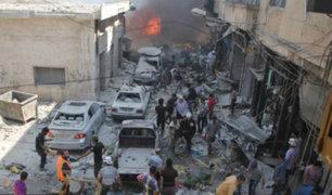 Rusia lanza advertencia a Estados Unidos sobre Siria