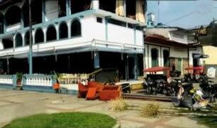 Iquitos: vientos huracanados causan muerte y destrucción