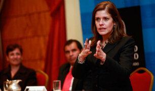 Mercedes Aráoz niega intervención en nombramientos de funcionarios del Estado