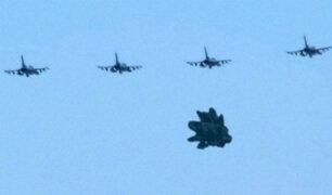 YouTube: ¿Un OVNI es escoltado por cazas estadounidenses en Turquía? [VIDEO]
