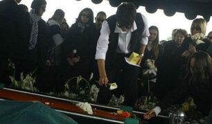 Ricky Tosso: familiares y amigos lo despidieron en emotiva ceremonia