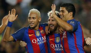 Champions League: Barcelona golea 7-0 con hat-trick de Lionel Messi