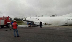 Indonesia: avión con 14 mil litros de combustible aterrizó de emergencia