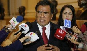 Javier Velásquez Quesquén niega intención de reducir valla electoral en primera vuelta