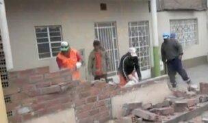 Callao: municipalidad recuperó espacios tomados por vecinos