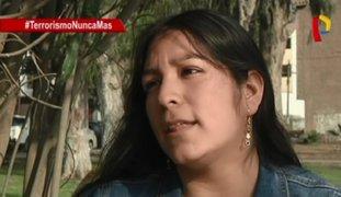 Hija de valeroso policía recuerda muerte de su padre asesinado por Sendero Luminoso