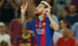 Lionel Messi marcó ante el Celtic su gol más rápido en la Champions League