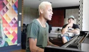 VIDEO: Neymar lanza su primera canción