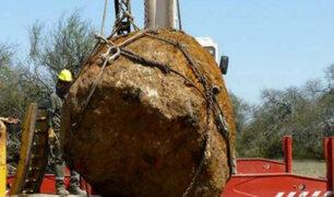 Argentina: hallan el segundo meteorito más grande en el mundo