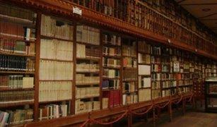 Biblioteca Nacional exige al PJ castigue a ladrones de libros
