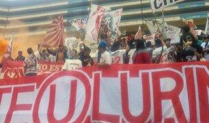 Bloque Deportivo: así fue el banderazo 'crema' previo al clásico