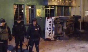 "Huancayo: turba intenta tomar comisaría para linchar a presuntos ""pishtacos"""