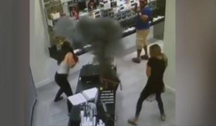 EEUU: cigarrillo electrónico explota dentro del bolso de una mujer
