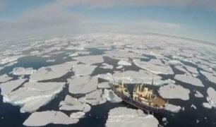 Océano Ártico sufre el segundo mayor deshielo de la historia