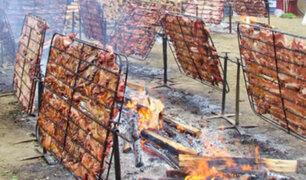 Desde Huaral: los secretos culinarios del chancho al palo
