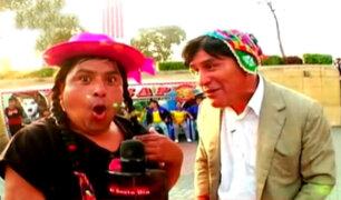El 'Cholo Peter' y la 'Chola Cachucha': la pareja más querida del humor