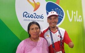 Juegos Paralímpicos: peruano Efraín Sotacuro logró cuarto puesto en maratón
