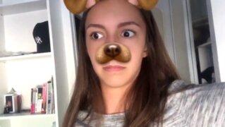 Escalofriante fantasma aparece mientras una chica usaba Snapchat