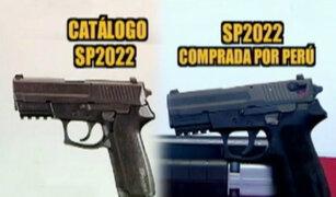 Malas Compras: primero patrulleros, ahora pistolas