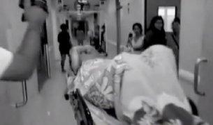 Mujer quemada con gasolina fue trasladada a Lima por grave estado
