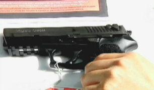 Critican inconsistencia en compras de pistolas durante gobierno de Humala