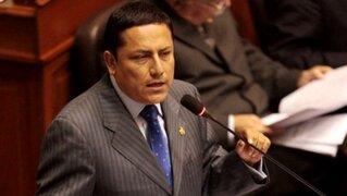 Elías Rodríguez renuncia a la tercera vicepresidencia del Congreso