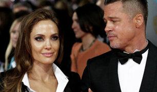 Se acabó el amor: Angelina Jolie pide el divorcio a Brad Pitt