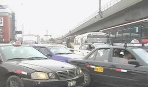 Surco: caos por obras abandonadas de Línea 1 del Metro de Lima
