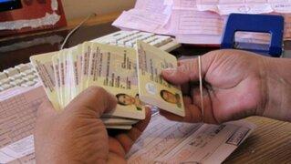 MTC reprograma fecha de entregas de brevetes a conductores