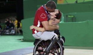 Bloque Deportivo: la imagen que emocionó a todos en los Juegos Paralímpicos
