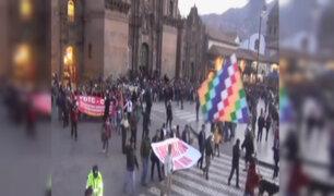 Cusco: pobladores exigen demolición de hotel Sheraton